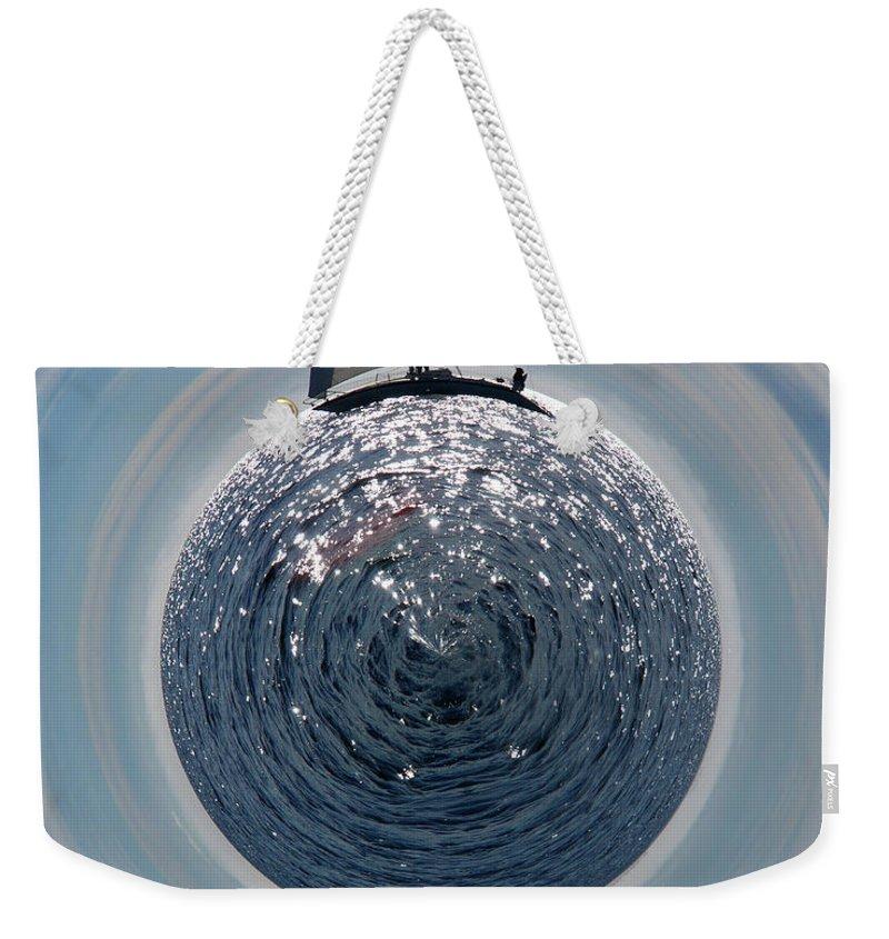Jouko Lehto Weekender Tote Bag featuring the photograph Sailing The World by Jouko Lehto