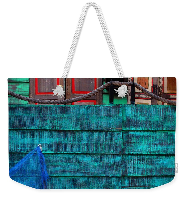 Salsa Weekender Tote Bag featuring the photograph Salsa by Skip Hunt