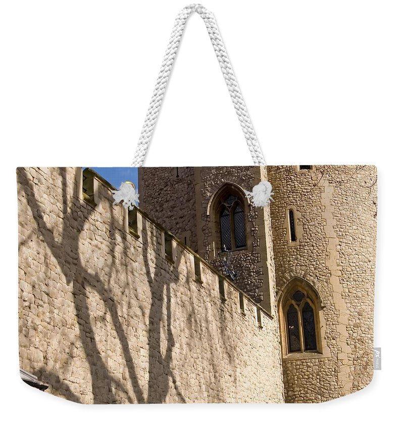 Europe Weekender Tote Bag featuring the photograph Salt Tower by Mary Lane