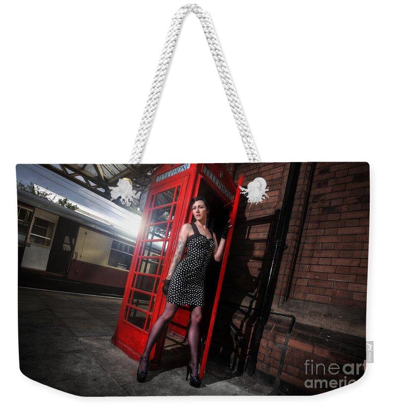 Yhun Suarez Weekender Tote Bag featuring the photograph Sam8 by Yhun Suarez