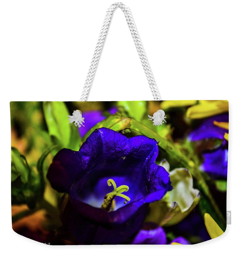 Flowers Weekender Tote Bag featuring the photograph Say Ahh by Shannon Harrington