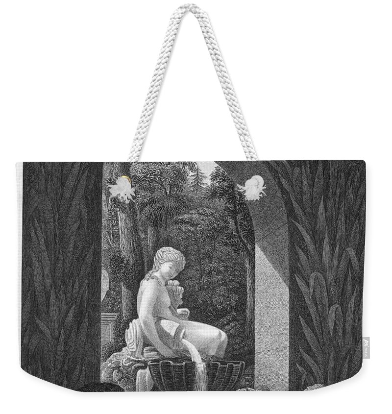 1823 Weekender Tote Bag featuring the photograph Schoenbrunn Palace, 1823 by Granger