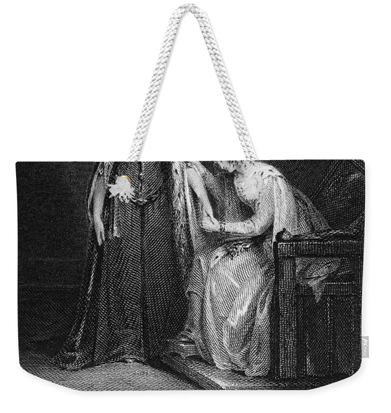1832 Weekender Tote Bag featuring the photograph Scott: Ivanhoe, 1832 by Granger