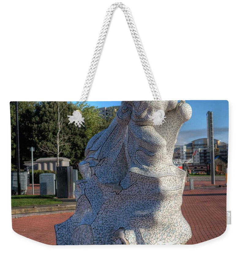 Robert Falcon Scott Weekender Tote Bag featuring the photograph Scott Of The Antarctic by Steve Purnell