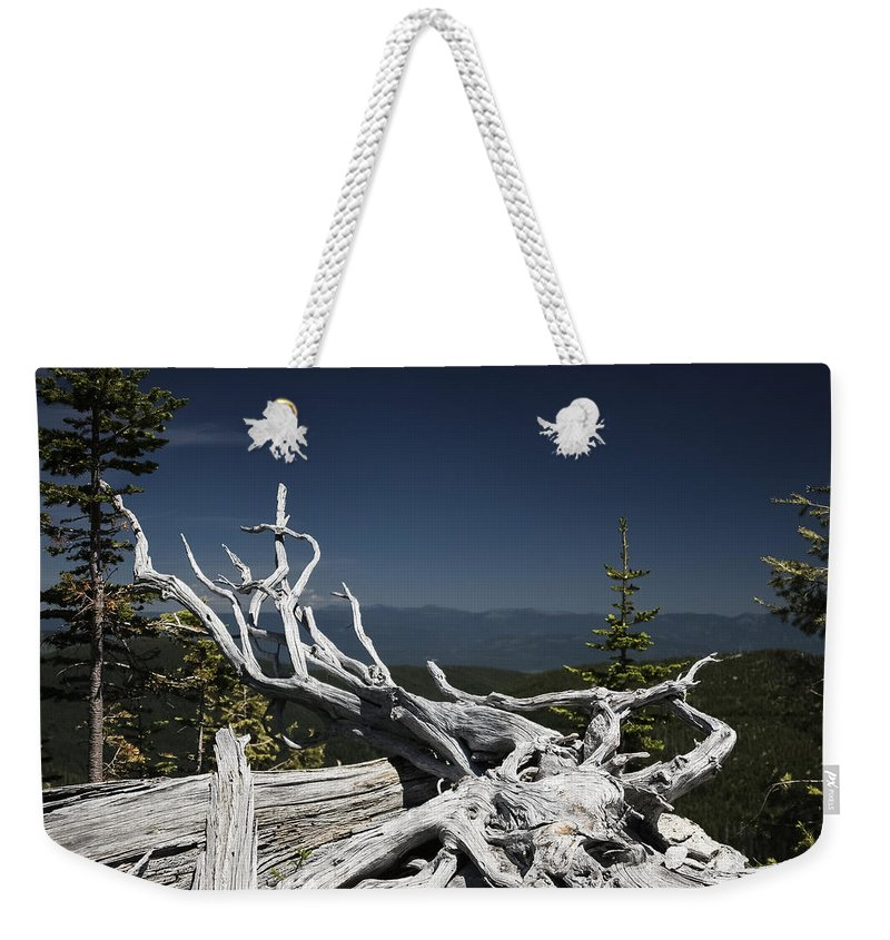 Snag Weekender Tote Bag featuring the photograph Sculpture By Mother Nature by Albert Seger