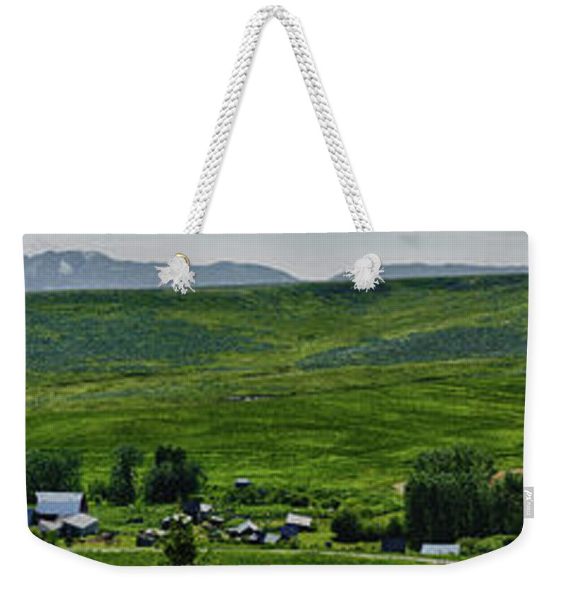 Americas Weekender Tote Bag featuring the photograph Section 13 by Roderick Bley