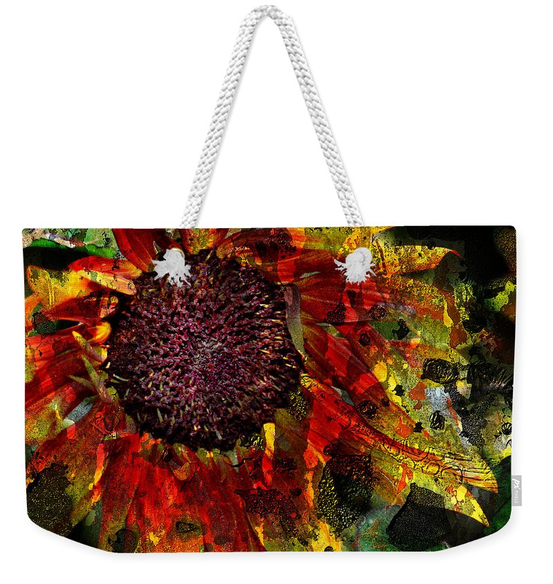 Jerry Cordeiro Weekender Tote Bag featuring the photograph Seeds To Sun by The Artist Project