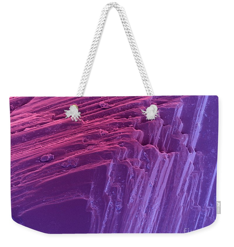 Sem Weekender Tote Bag featuring the photograph Sem Of A Diamond by Ted Kinsman