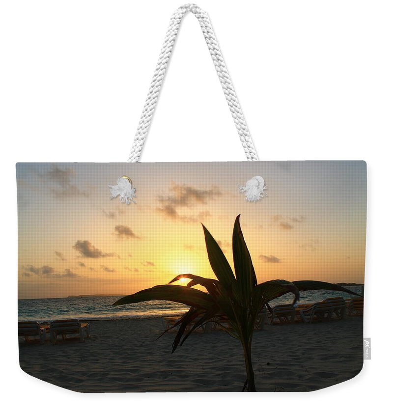 Sunrise Weekender Tote Bag featuring the photograph Serenity by Catie Canetti