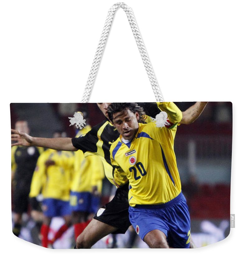 Sergio Weekender Tote Bag featuring the photograph Carlos Busquets 2 by Agusti Pardo Rossello