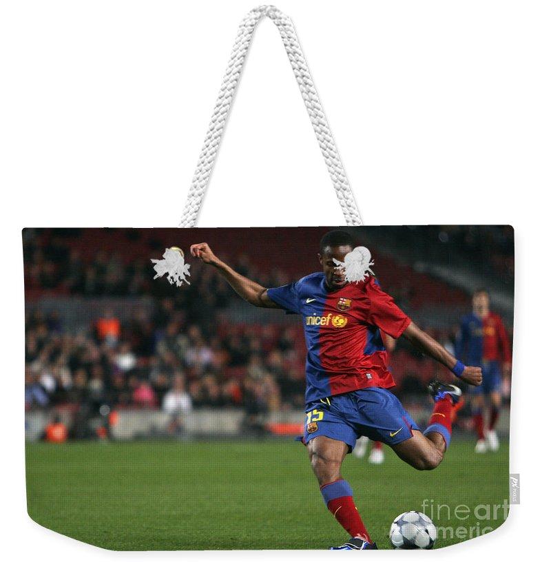 Seydou Weekender Tote Bag featuring the photograph Seydou Keita Stroke by Agusti Pardo Rossello
