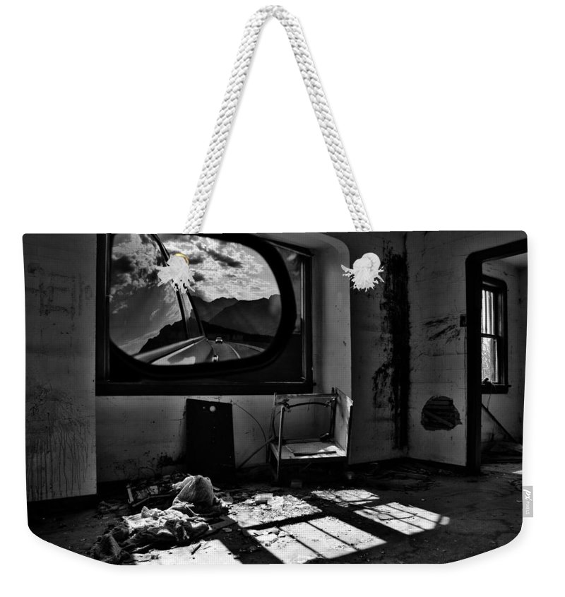 Street Photography Photographs Weekender Tote Bag featuring the photograph Shadows Of Roads Ahead by The Artist Project