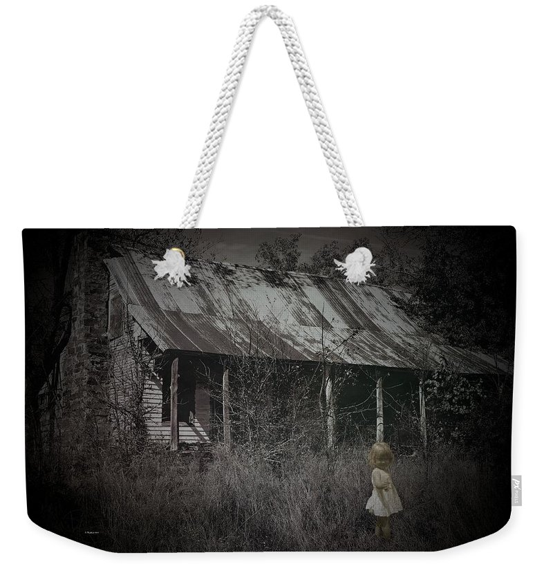 House Weekender Tote Bag featuring the photograph She Doesn't Play Here Anymore by Betty Northcutt