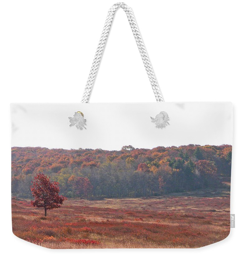Nature Weekender Tote Bag featuring the photograph Shenandoah Plain by Shirin Shahram Badie