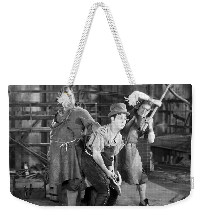 -blacksmith- Weekender Tote Bag featuring the photograph Silent Still: Blacksmith by Granger