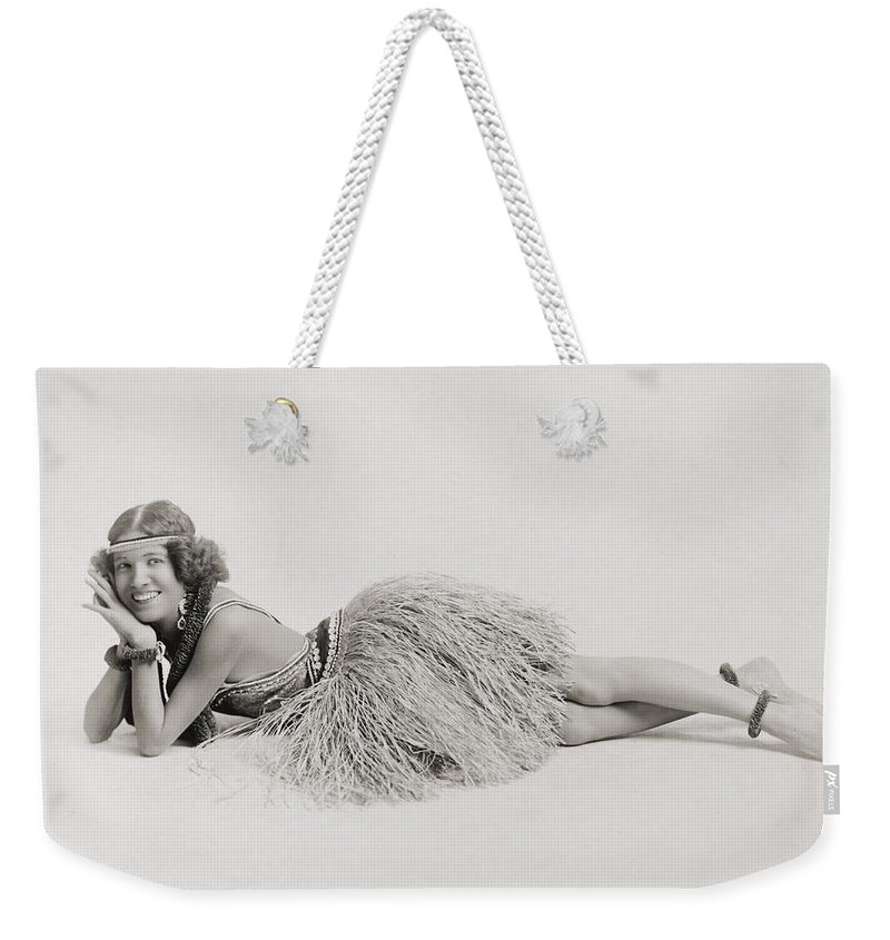 20th Century Weekender Tote Bag featuring the photograph Silent Still: Dancer by Granger