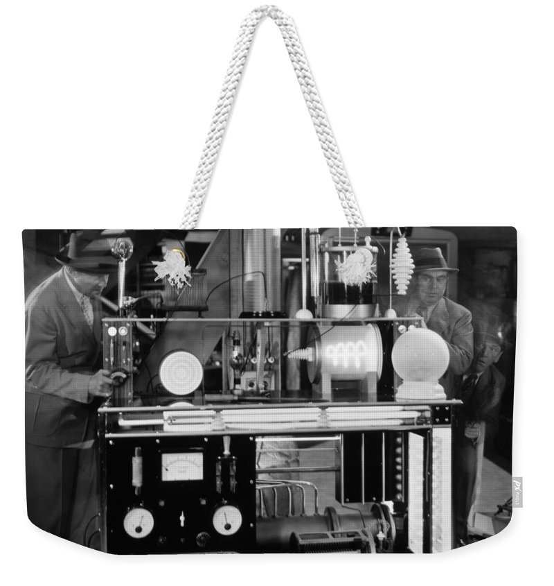 -laboratories- Weekender Tote Bag featuring the photograph Silent Still: Laboratories by Granger