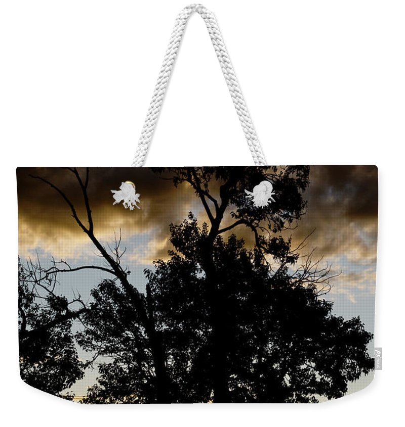 Americas Weekender Tote Bag featuring the photograph Silhouette Sunset by Roderick Bley