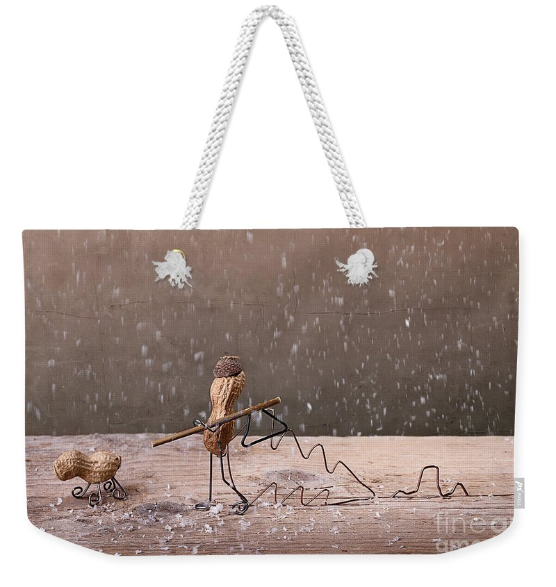 Peanut Weekender Tote Bag featuring the photograph Simple Things - Christmas 03 by Nailia Schwarz