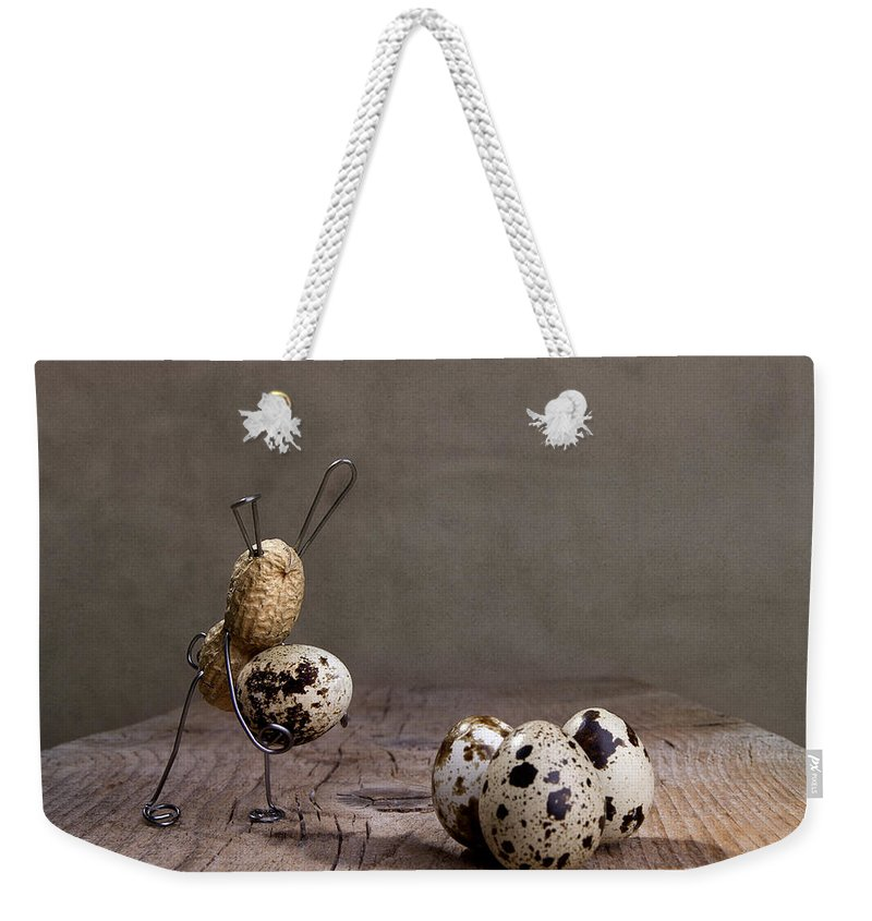 Easter Weekender Tote Bag featuring the photograph Simple Things Easter 03 by Nailia Schwarz