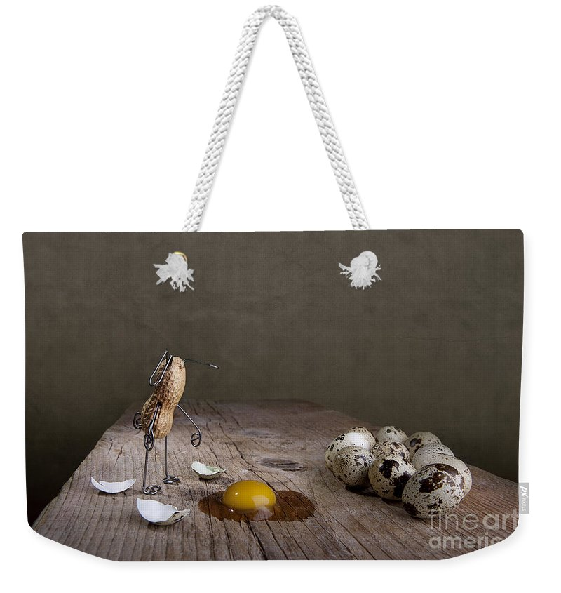 Easter Weekender Tote Bag featuring the photograph Simple Things Easter 05 by Nailia Schwarz
