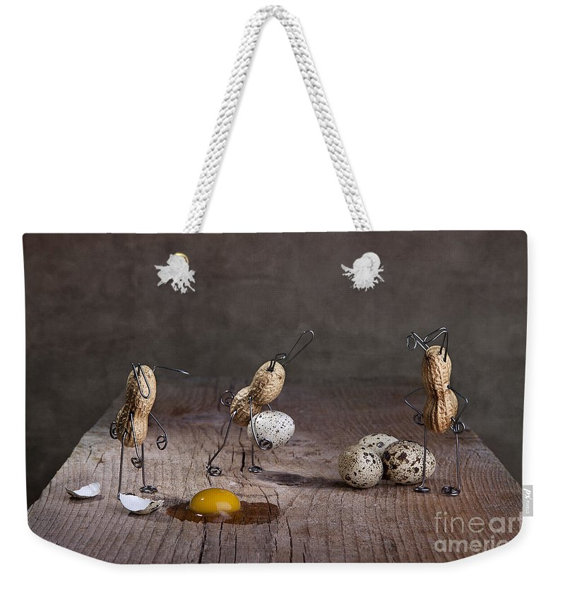 Easter Weekender Tote Bag featuring the photograph Simple Things Easter 06 by Nailia Schwarz