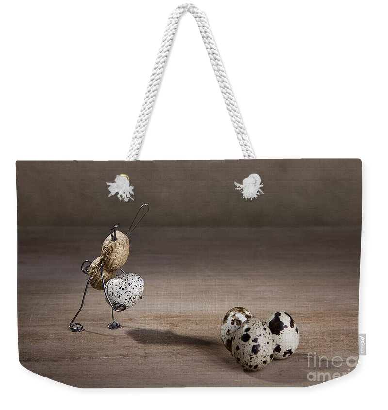 Easter Weekender Tote Bag featuring the photograph Simple Things Easter 08 by Nailia Schwarz