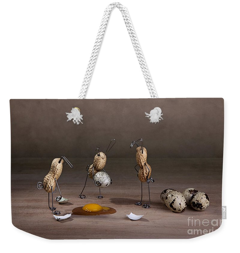 Easter Weekender Tote Bag featuring the photograph Simple Things Easter 10 by Nailia Schwarz