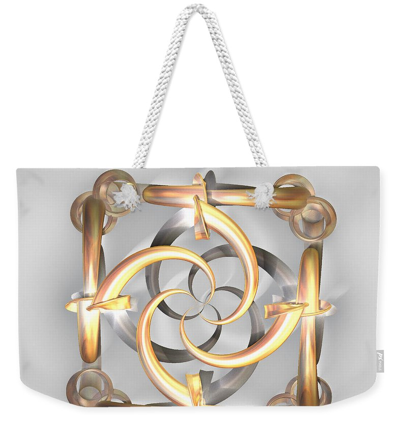 Digital Weekender Tote Bag featuring the photograph Simplicity by Leslie Revels