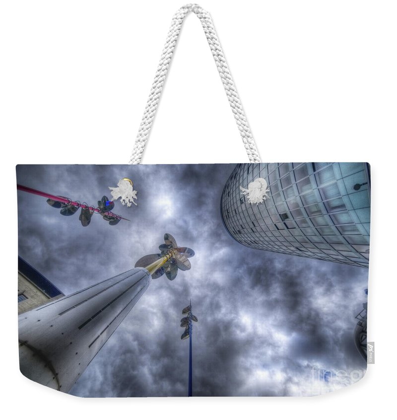 Art Weekender Tote Bag featuring the photograph Sky Is The Limit by Yhun Suarez