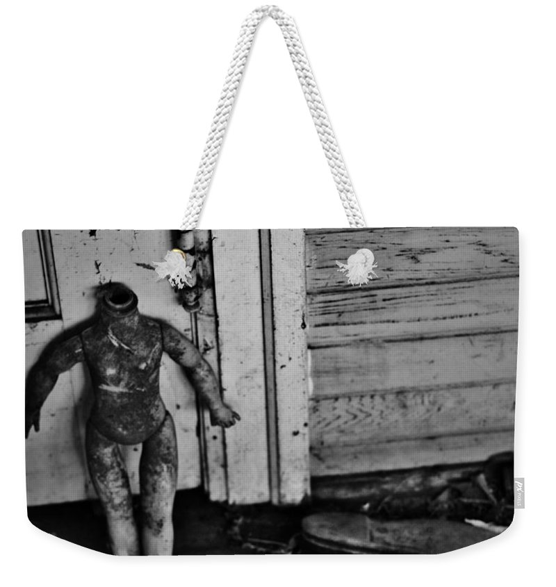Street Photographer Framed Prints Weekender Tote Bag featuring the photograph Slipped by The Artist Project