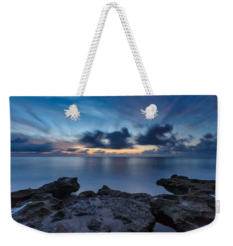 Usa Weekender Tote Bag featuring the photograph Slow Motion by Claudia Domenig