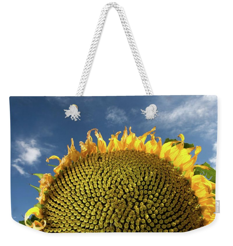 Clouds Weekender Tote Bag featuring the photograph Smiling Face by Peter Tellone