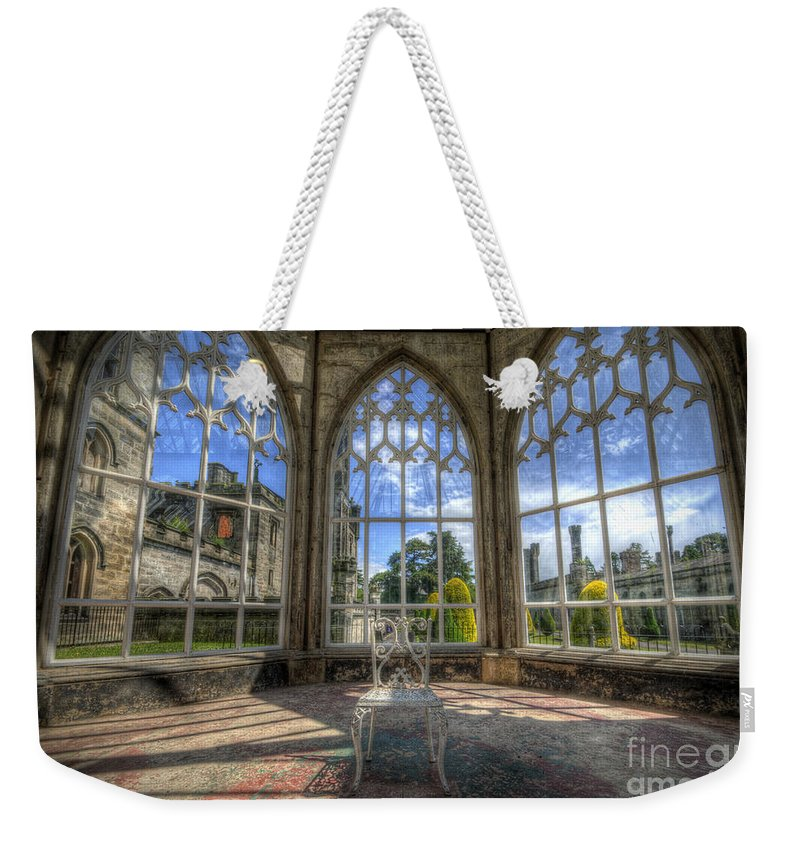 Art Weekender Tote Bag featuring the photograph Solitary Conservatory by Yhun Suarez