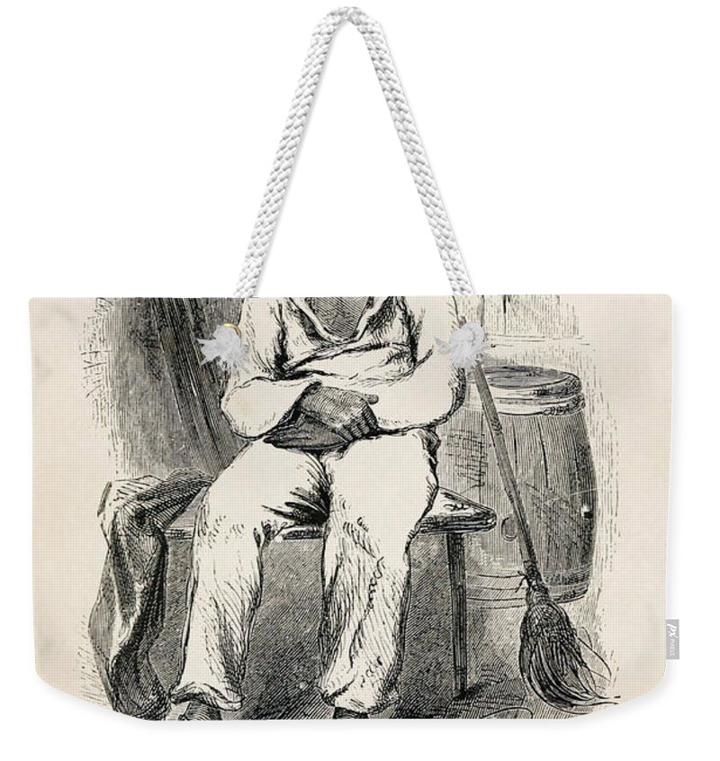 1853 Weekender Tote Bag featuring the photograph Solomon Northup (1808-?) by Granger