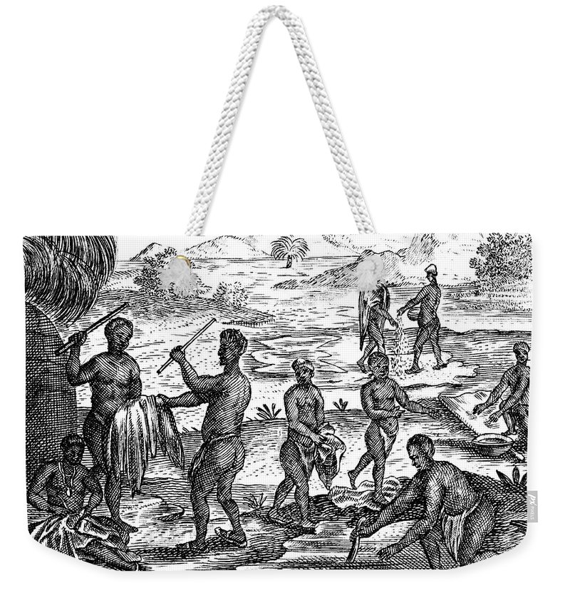 1731 Weekender Tote Bag featuring the photograph South Africa: Hottentot by Granger