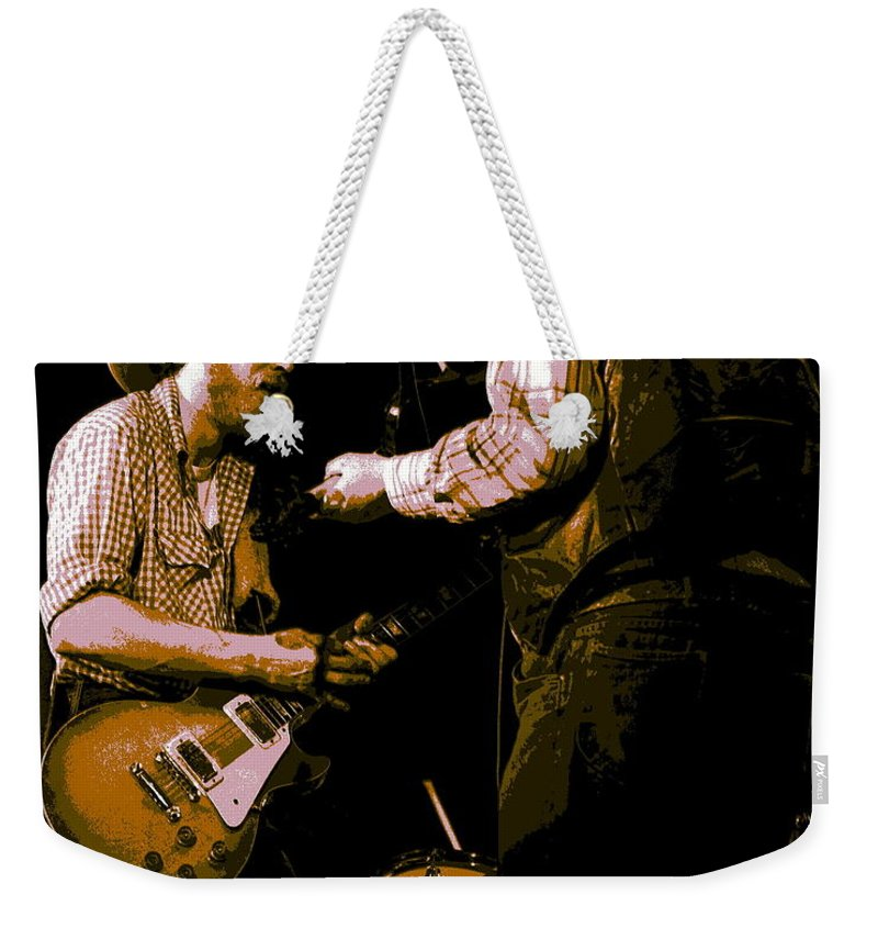 Tommy Crain Weekender Tote Bag featuring the photograph Southern Jam By The Cdb by Ben Upham