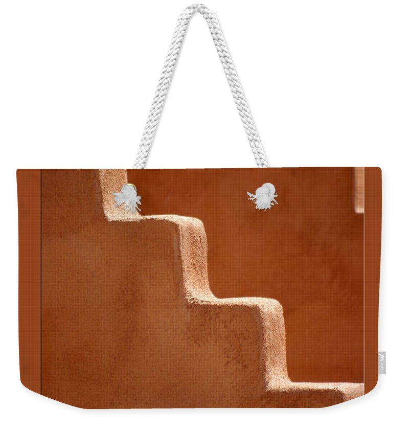 Wall Weekender Tote Bag featuring the photograph Southwest Contour by Vicki Pelham