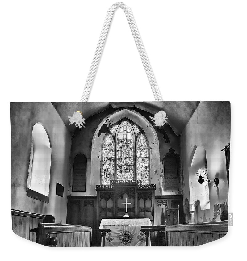 Lawrence Weekender Tote Bag featuring the photograph St Lawrence South Cove by Dave Godden