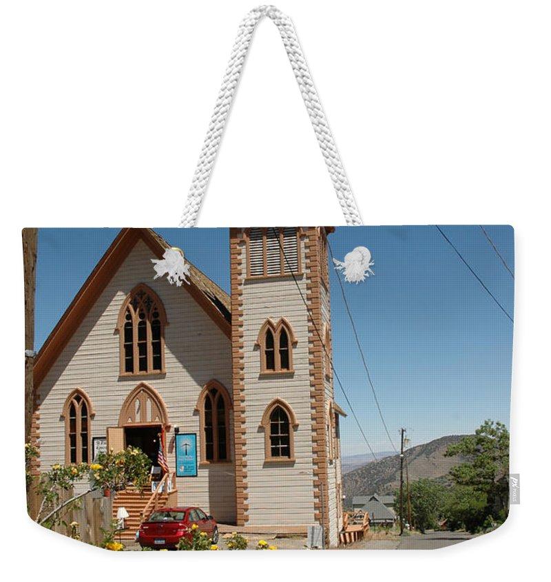 Usa Weekender Tote Bag featuring the photograph St Pauls by LeeAnn McLaneGoetz McLaneGoetzStudioLLCcom