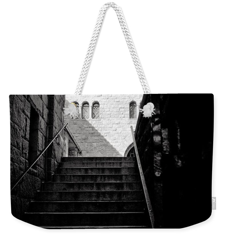 Stairs Weekender Tote Bag featuring the photograph Staircase by Madeline Ellis