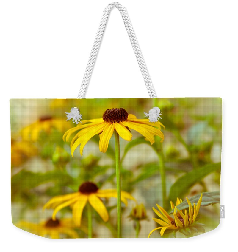 Flower Weekender Tote Bag featuring the photograph Standing Tall by Lynne Jenkins