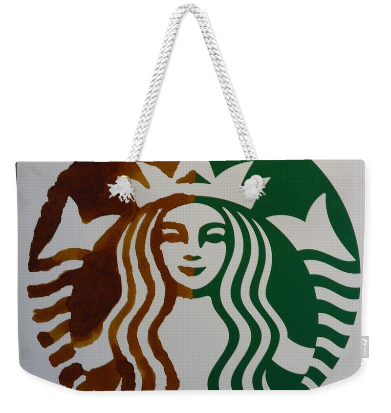 Starbuck Weekender Tote Bag featuring the photograph Starbuck The Mermaid by Rob Hans