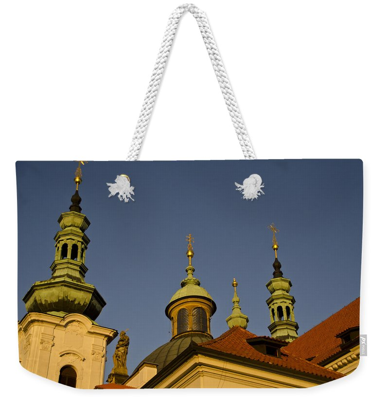 Strahov Monastery Weekender Tote Bag featuring the photograph Strahov Monastery - Prague Czech Republic by Jon Berghoff