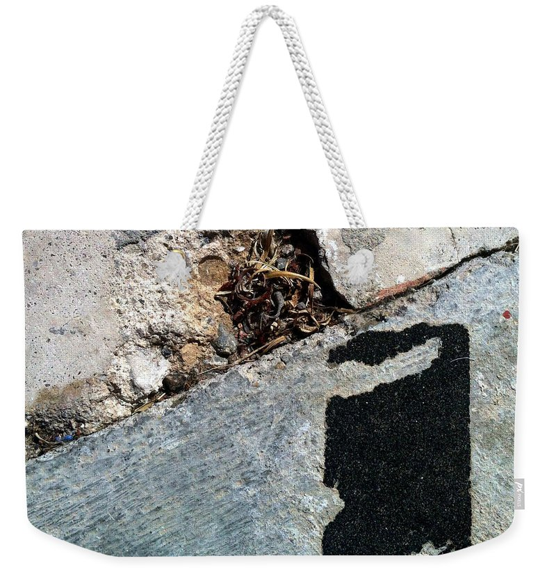 Marlene Burns Weekender Tote Bag featuring the photograph Streets Of Tucson 113 by Marlene Burns