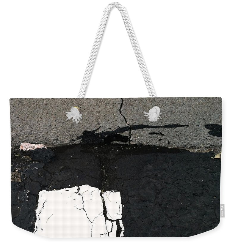 Strip Tease Weekender Tote Bag featuring the photograph Strip Tease by Marlene Burns