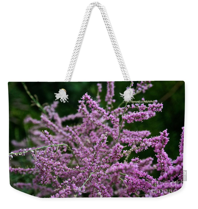 Outdoors Weekender Tote Bag featuring the photograph Summer Glow by Susan Herber