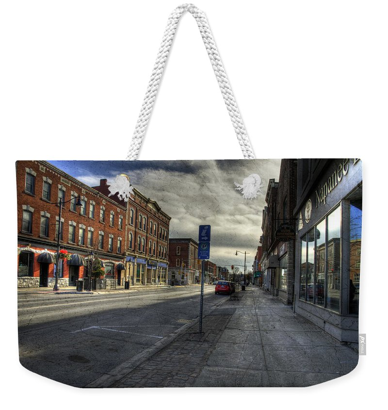 Acrylic Prints Weekender Tote Bag featuring the photograph Sunday Afternoon Cannon Practice by John Herzog