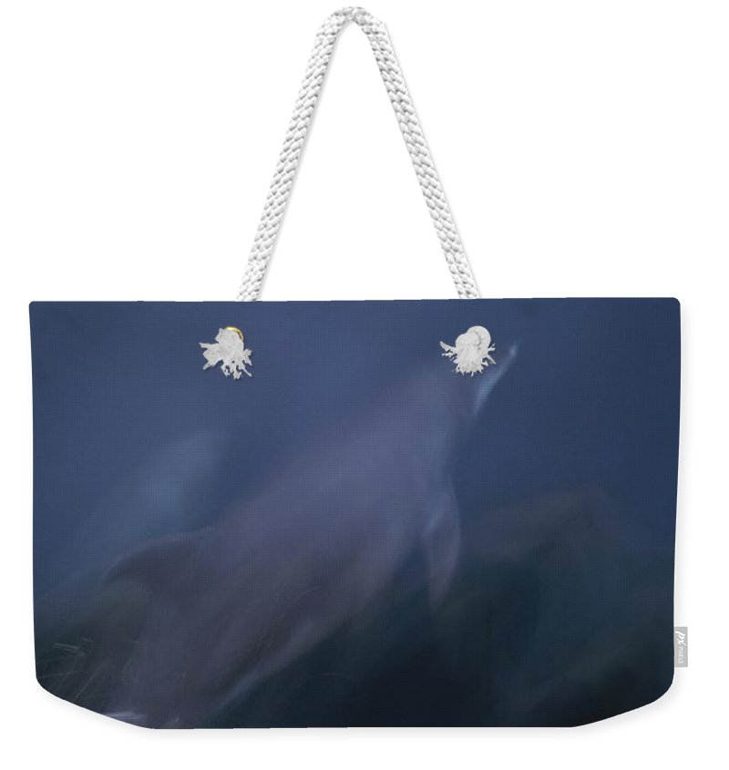 Pacific Ocean Weekender Tote Bag featuring the photograph Sunlight Shines Through The Water by Michael Melford