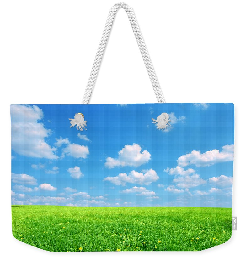 Agriculture Weekender Tote Bag featuring the photograph Sunny Spring Landscape by Michal Bednarek